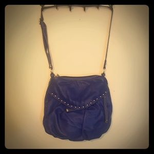 Red by Marc Ecko Blue Leather Purse